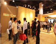 怡黄木业——2013年5月杭州房展会,万科、绿城集团展位用板