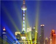 东方明珠塔香港回归庆典搭台用板